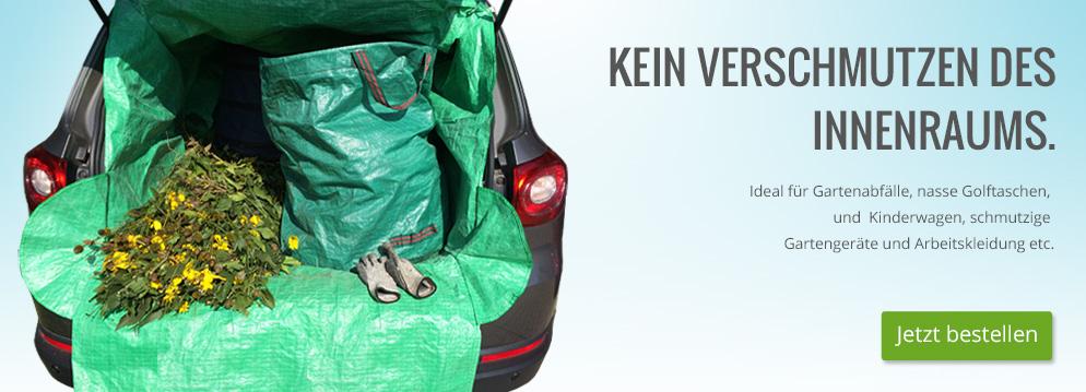 CarProtektor - Kein Verschmutzen des Innenraums